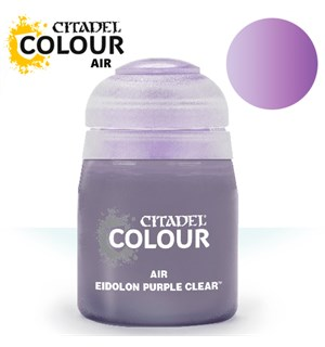 Airbrush Paint Eidolon Purple Clear 24ml Maling til Airbrush