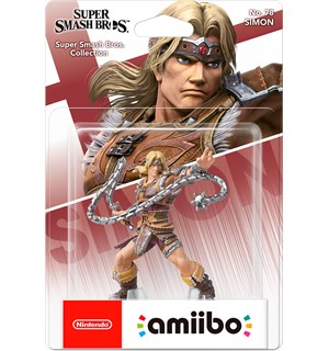 Amiibo Figur Simon Belmont Super Smash Bros Collection No 78