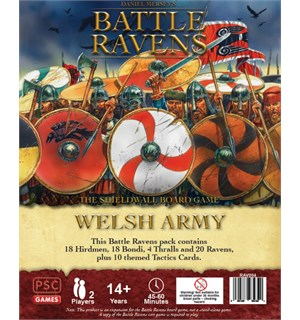 Battle Ravens Welsh Army Expansion Utvidelse til Battle Ravens