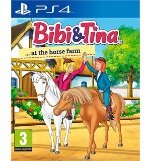 Bibi & Tina At the Horse Farm PS4