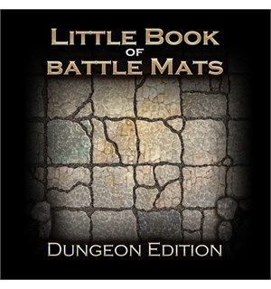 Book Of Battlemats LITTLE - 40 sider Spiralinnbundet - 2,5 cm rutenett
