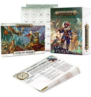 Cities of Sigmar Warscroll Cards Warhammer Age of Sigmar
