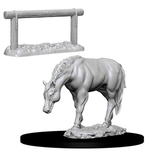D&D Figur Deep Cuts Horse & Hitch