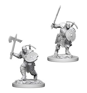 D&D Figur Nolzur Earth Genasi Fighter Ma Nolzur's Marvelous Miniatures - Umalt