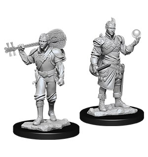 D&D Figur Nolzur Half-Elf Bard Male Nolzur's Marvelous Miniatures
