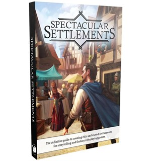 D&D Suppl. Spectacular Settlements Dungeons & Dragons Supplement