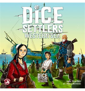 Dice Settlers Western Sea Expansion Utvidelse til Dice Settlers