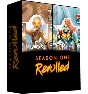 Dice Throne Season 1 ReRolled Box 2 Monk Vs Paladin