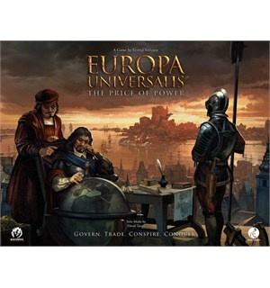 Europa Universalis Deluxe Ed Brettspill Price of Power - INKL ALLE STRETCH GOALS