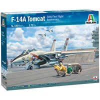F-14A Tomcat 50th First Flight Anniv. Italeri 1:72 Byggesett