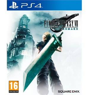 Final Fantasy VII Remake m/ bonus PS4 Final Fantasy 7 Day One Edition