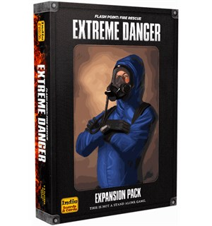Flash Point Extreme Danger Expansion Utvidelse til Flash Point Fire Rescue