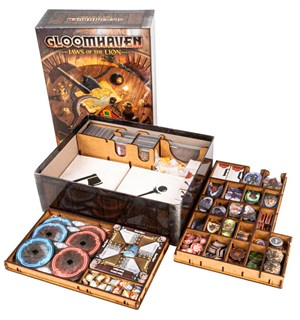 Gloomhaven Jaws of the Lion Insert Hold kontroll i spillboksen