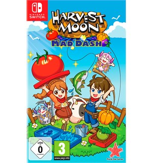 Harvest Moon Mad Dash Switch