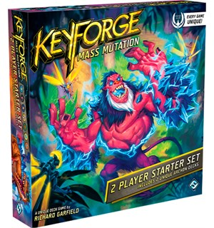Keyforge Mass Mutation Starter Set Startsett for 2 spillere