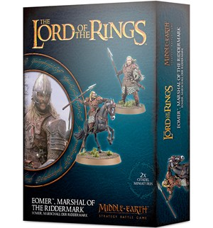 Lord of the Rings Eomer Marshall of Ridd Lord of the Rings Strategy Battle Game
