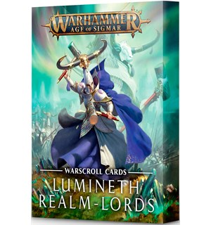 Lumineth Realm Lords Warscroll Cards Warhammer Age of Sigmar