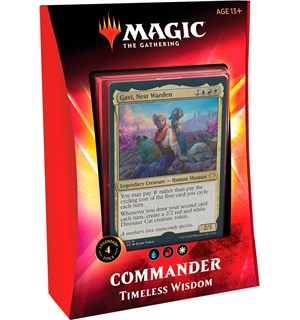 Magic Commander Deck Timeless Wisdom Ikoria Lair of Behemoths - 100 kort