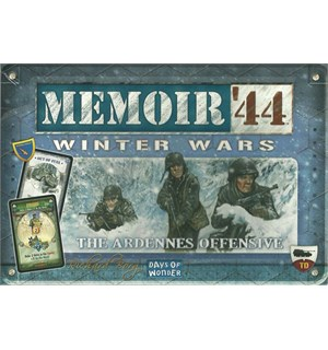 Memoir 44 Winter Wars Expansion Utvidelse til Memoir 44