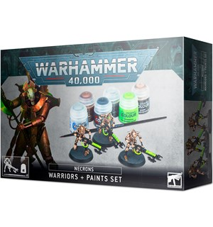 Necrons Warriors + Paint Set Warhammer 40K