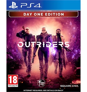 Outriders Day One Edition PS4 Pre-order og få spesialutgave m/ bonuser