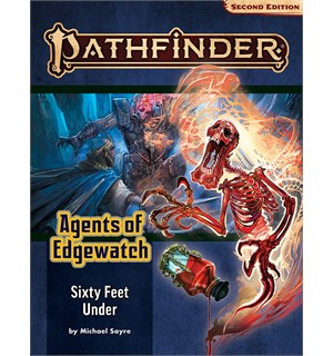 Pathfinder 2nd Ed Agents Edgewatch Vol 2 Sixty Feet Under - Adventure Path