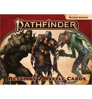 Pathfinder 2nd Ed Cards Bestiary 2 Second Edition RPG - 450 kort