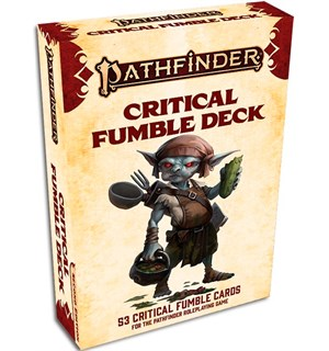 Pathfinder 2nd Ed Critical Fumble Deck Second Edition RPG