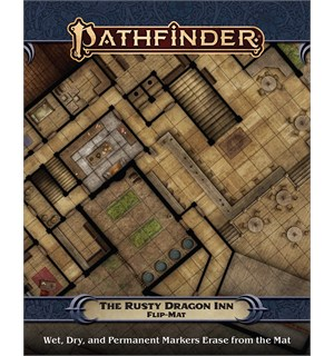 Pathfinder Flip Map Rusty Dragon Inn