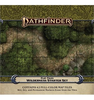 Pathfinder Flip Tiles Wilderness Starter Starter Set - 42 stk 15x15 kart