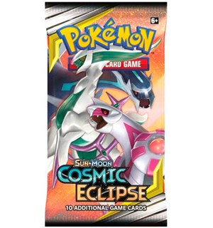 Pokemon Cosmic Eclipse Booster Sun & Moon 12 - 10 tilfeldige kort