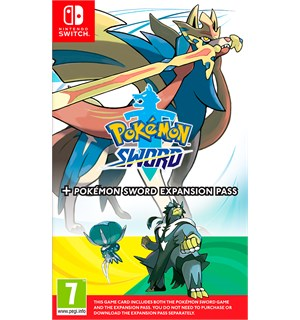 Pokemon Sword + Expansion Pass Switch