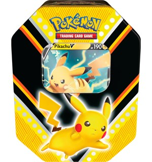 Pokemon Tin Box Pikachu V Fall 2020