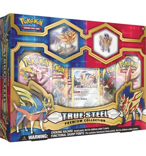 Pokemon True Steel Premium Box Zamazenta Premium Collection