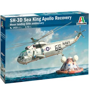 SH-3D Sea King Apollo Recovery Italeri 1:72 Byggesett