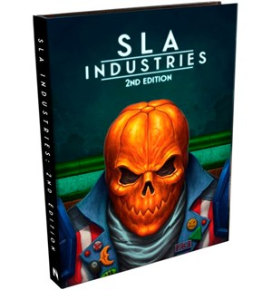 SLA Industries RPG 2E Core Rules Second Edition - Regelbok