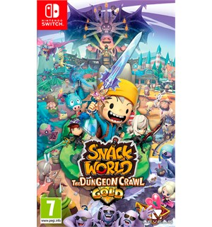 Snack World Dungeon Crawl Gold Switch