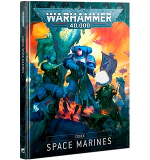 Space Marines Codex Warhammer 40K