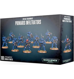 Space Marines Primaris Infiltrators Warhammer 40K