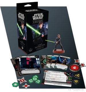Star Wars Legion Luke Skywalker Exp Utvidelse til Star Wars Legion