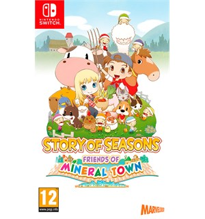 Story of Seasons Mineral Town Switch Friends of Mineral Town