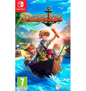 Stranded Sails Switch Explorers of the Cursed Islands
