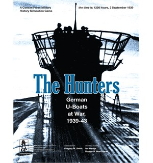 The Hunters Brettspill German U-Boats at War 1939-43