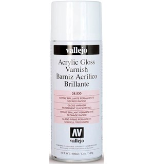 Vallejo Acrylic Gloss Varnish 400ml Beskytt akrylmalte modeller