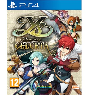 Ys Memories of Celceta PS4