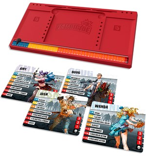 Zombicide 2nd Edition Extra Players Kit Extra Players Upgrade Kit - Conversion