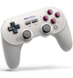 8Bitdo SN30 Pro+ Gamepad Classic Edition Støtter Switch, PC, Android