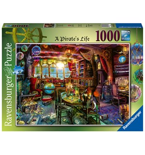 A Pirates Life 1000 biter Puslespill Ravensburger Puzzle