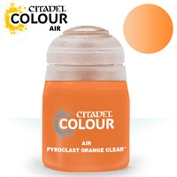 Airbrush Paint Pyroclast Orange Clear 24 Maling til Airbrush