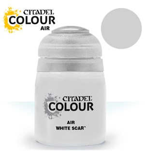 Airbrush Paint White Scar 24ml Maling til Airbrush